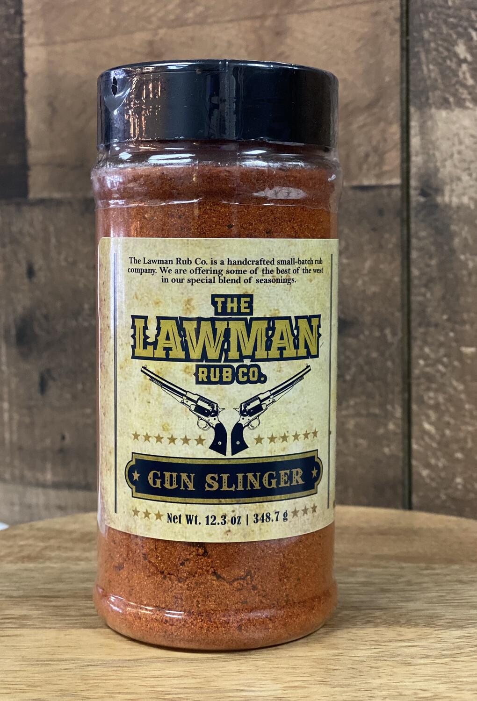 Lawman Rub Gun Slinger
