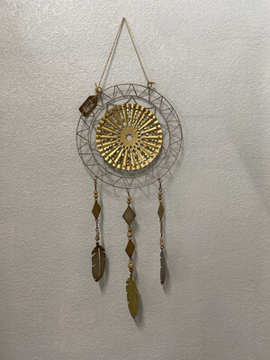 Dream Catcher Metal W/ Feathers