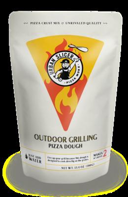 Dough Pizza Mix Grilling