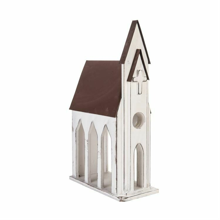 Card Holder Rustic Church