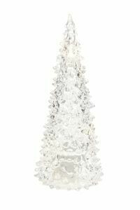 Christmas Tree LED Clear 8""
