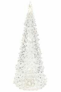"Christmas Tree LED Clear 11"""