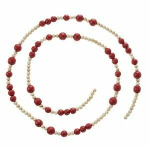 Garland Red Bead 5'