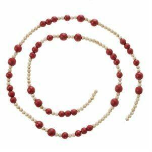 Garland Red Bead 5'