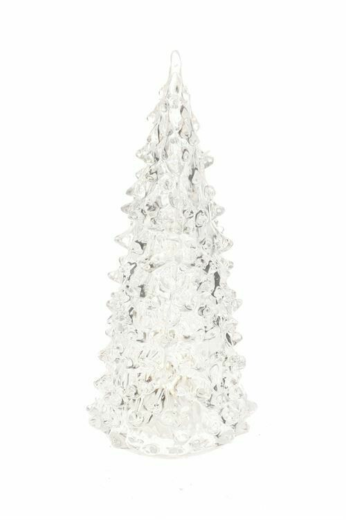 Christmas Tree LED Clear 7""