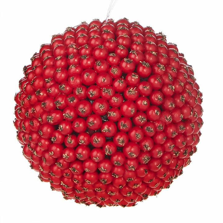 "Ornament Berry Ball 4"""