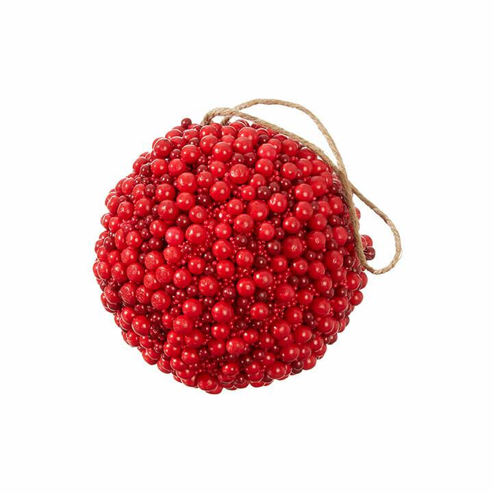"Ornament Berry Ball 5"""