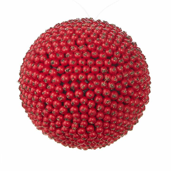 "Ornament Berry Ball 5.25"""