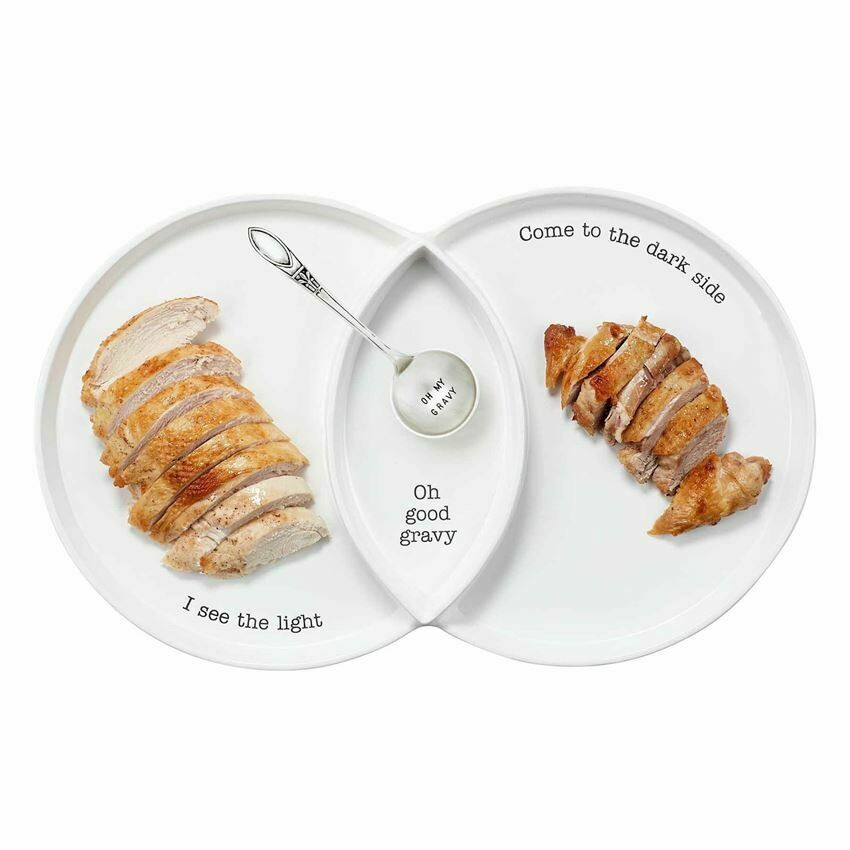 Platter Divided Turkey Set