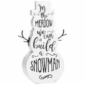 "Snowman 12.5"""