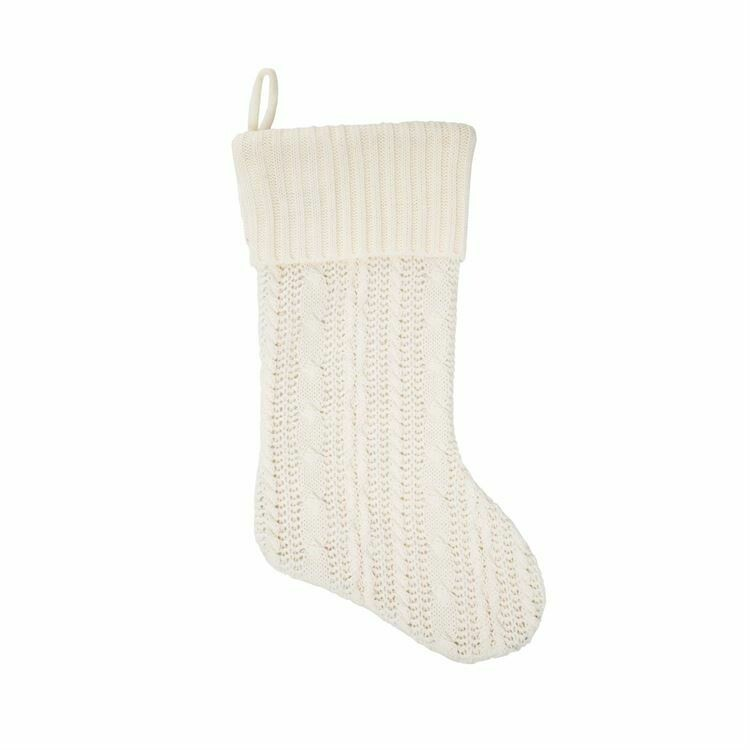 Stocking Knit Ivory