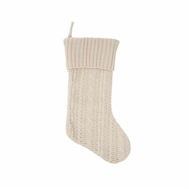 Stocking Knit Natural
