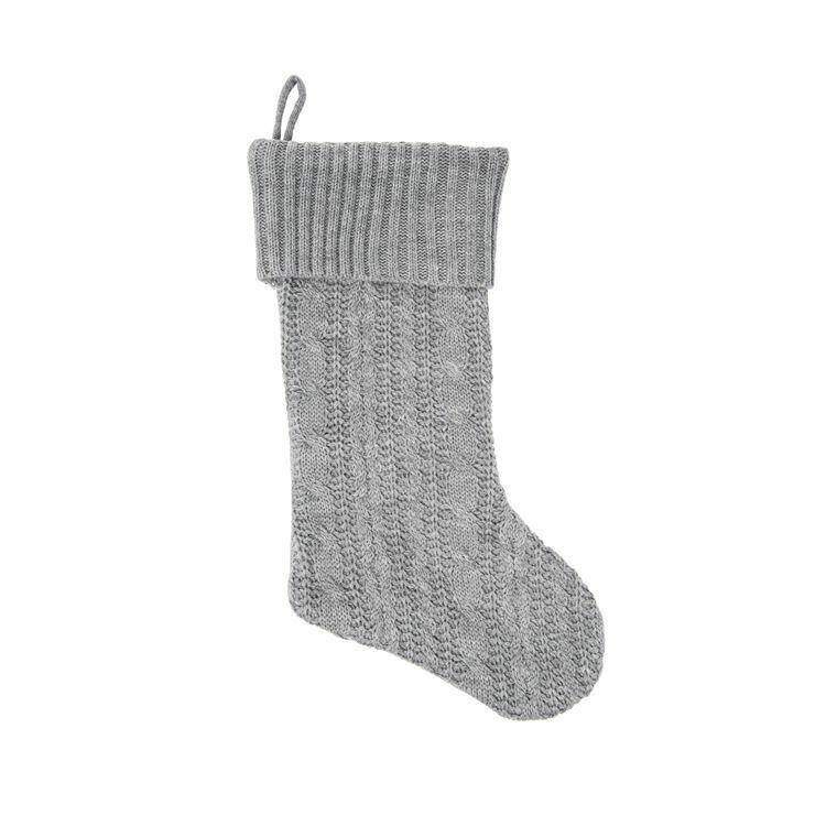 Stocking Knit Gray