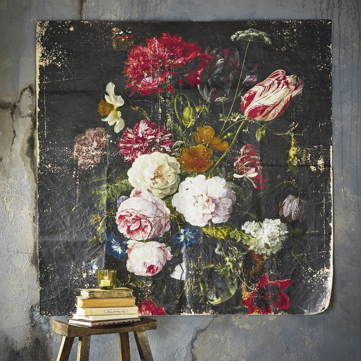 Tapestry Floral Wall Art