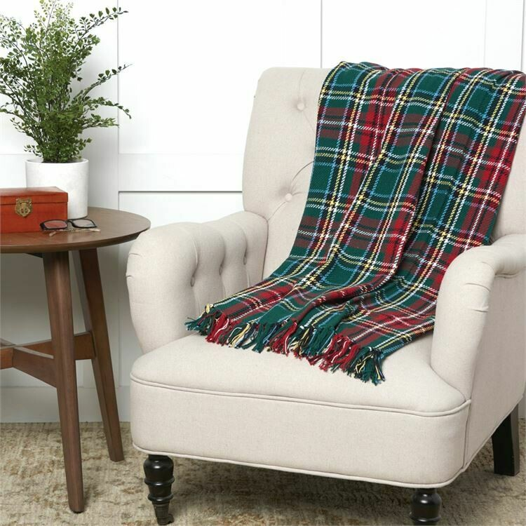 Throw Weston Plaid