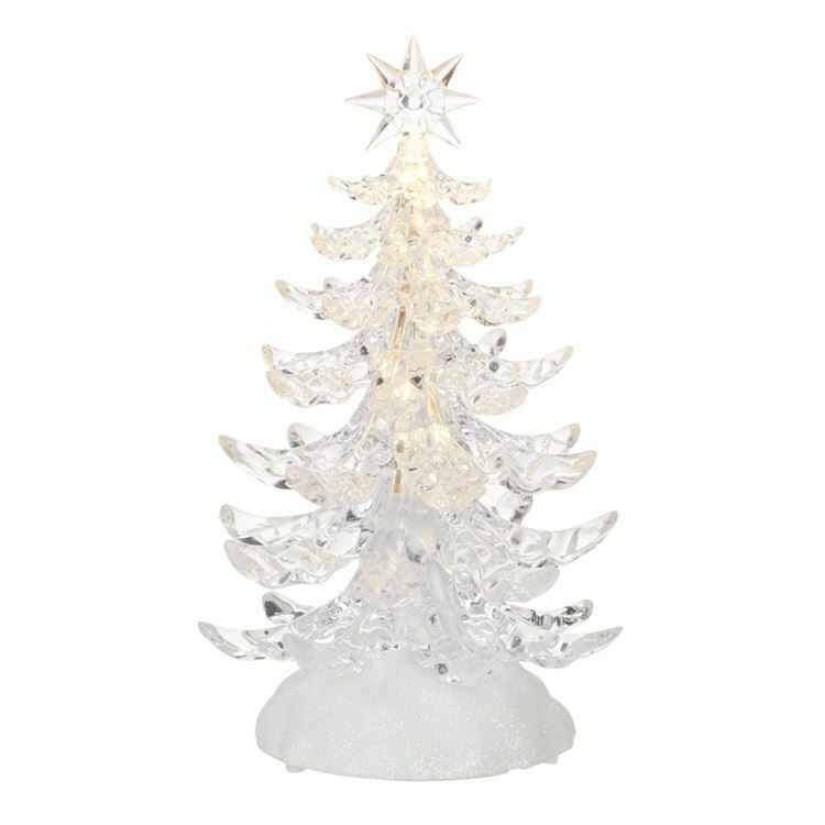 Tree Clear Lighted 9.5""