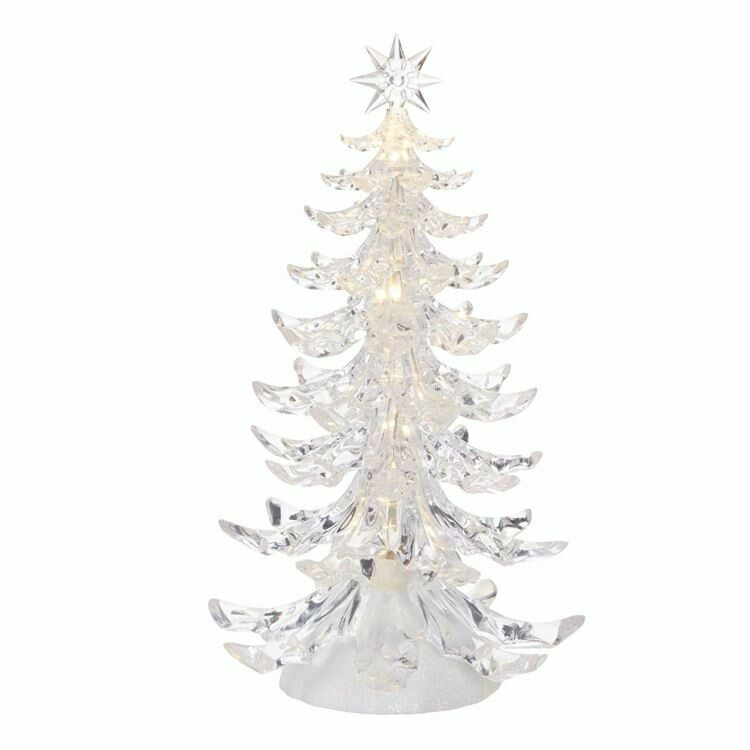 Tree Clear Lighted 12.5""