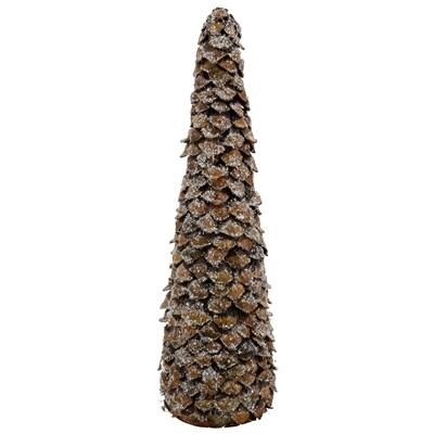 Tree Pinecone Body Glittered