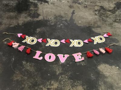 Banner Valentines LOVE