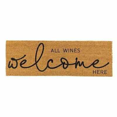 Door Mat Wines Welcome