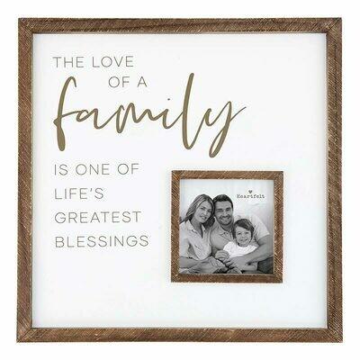 Frame Love of Family