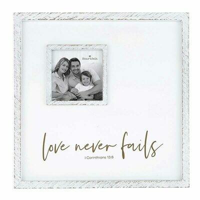 Frame Love Never Fails