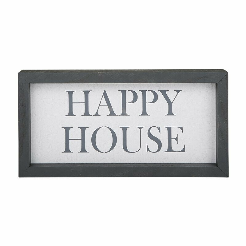 Sign Happy House