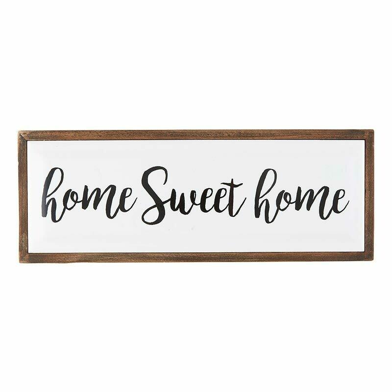 Sign Enamel Home Sweet Home