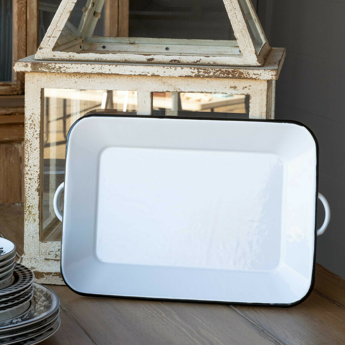 Tray Painted Metal