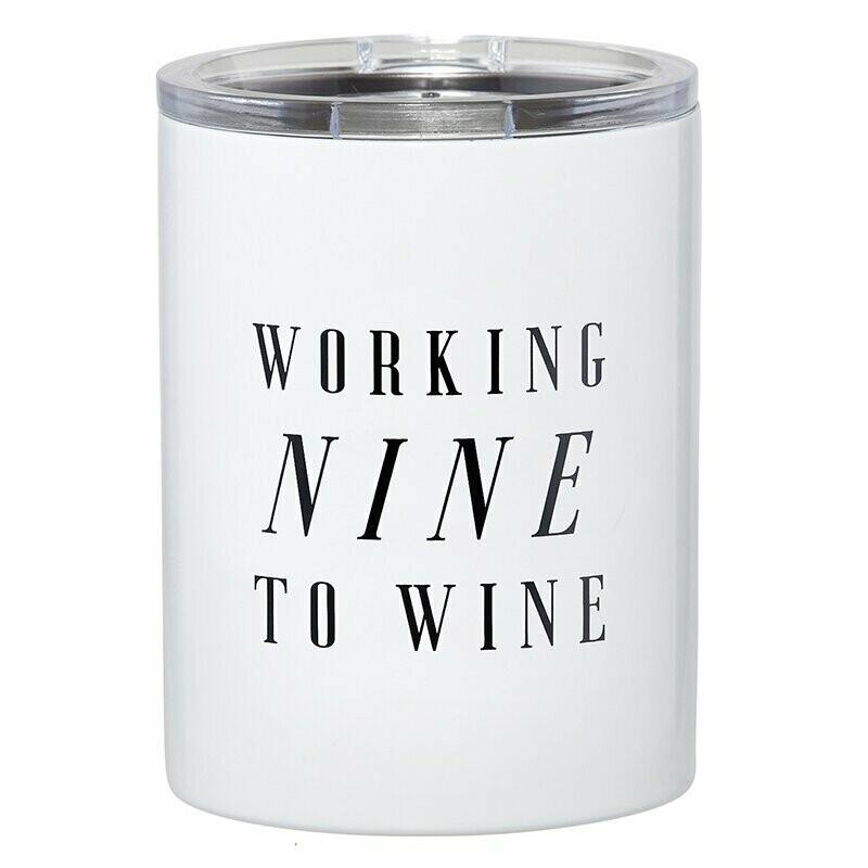 Tumbler Nine to Wine