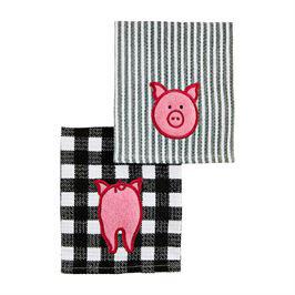 Dishcloth Scrubber Pig