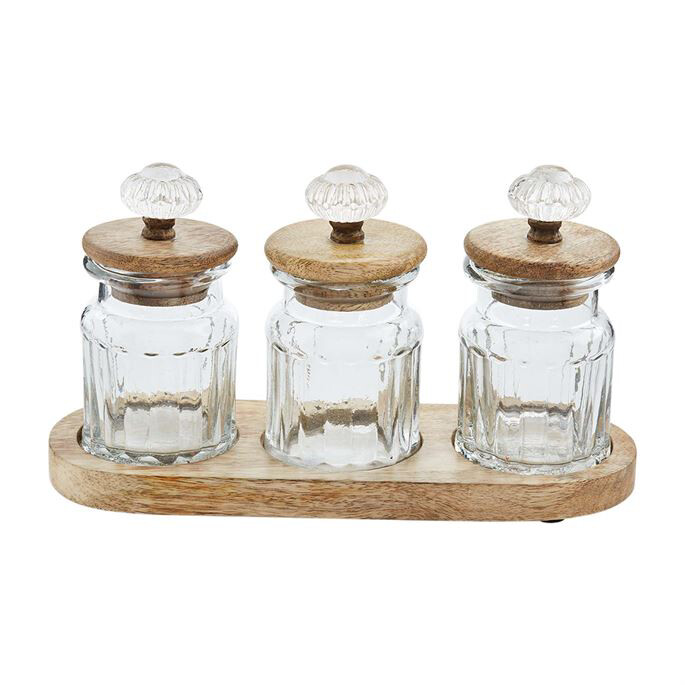 Jars Condiment Set