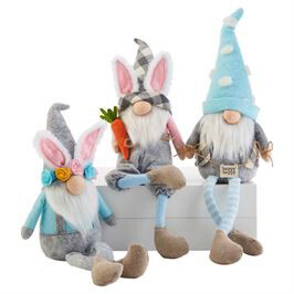 Gnome Easter Dangle Assorted