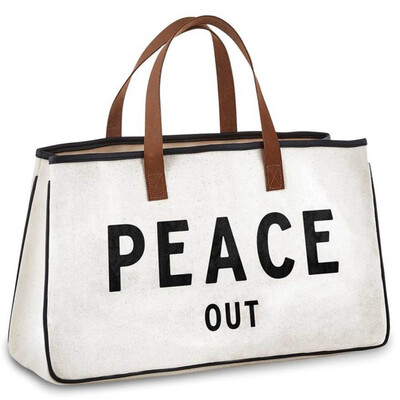 Tote Peace Out