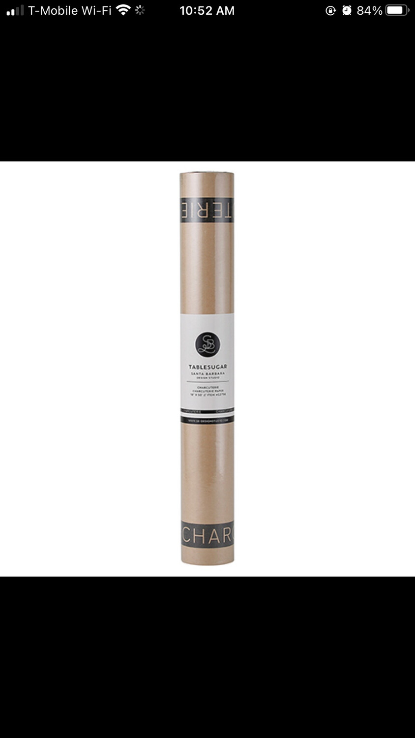Charcuterie Paper Brown
