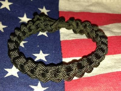 Survival Bracelet - Military Weave: We Will HAND MAKE In Any Color Combinations You Want