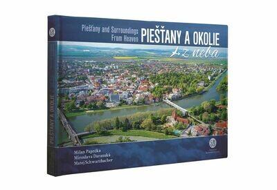 Kniha - Piešťany a okolie z neba