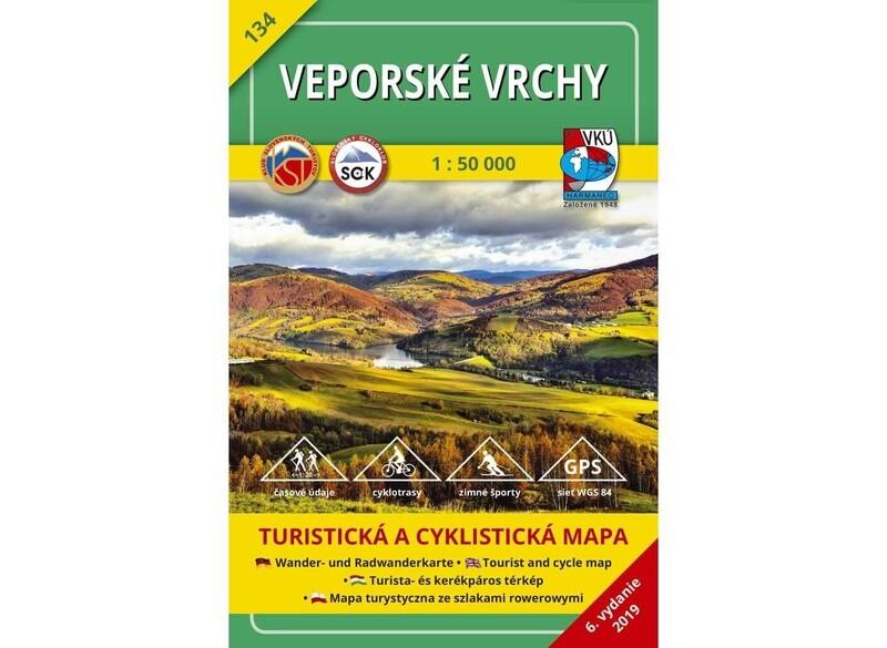 TM 134 - Veporské vrchy