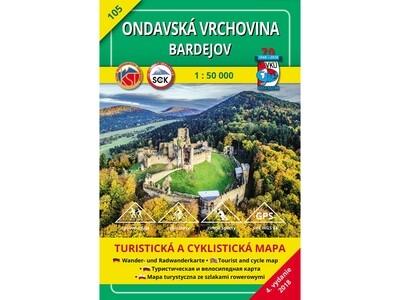 TM 105 - Ondavská vrchovina - Bardejov