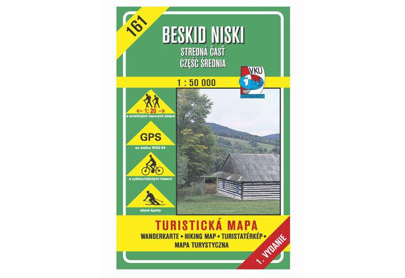 TM 161 - Beskid Niski - stredná časť, czesc srednia (SK+PL)