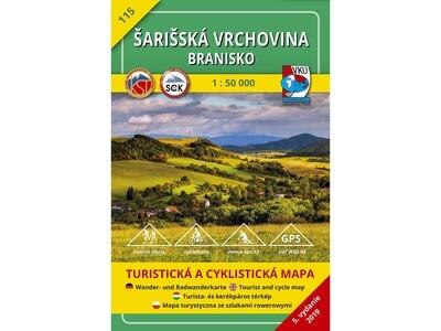 TM 115 - Šarišská vrchovina - Branisko