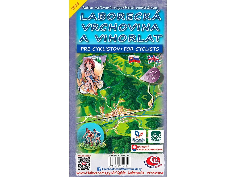 Cyklomapa Laborecká vrchovina a Vihorlat