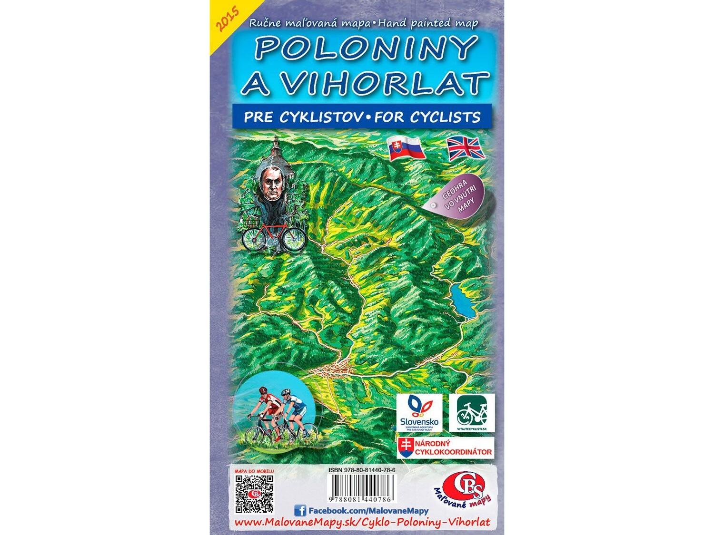 Cyklomapa Poloniny a Vihorlat