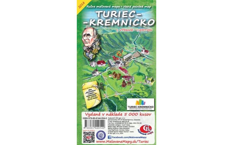 MAPA Turiec-Kremnicko I. vydanie