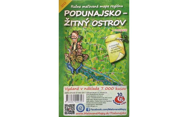 Podunajsko - Žitný ostrov I. Vydanie