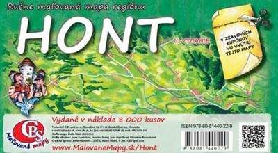 MAPA Hont II.vydanie
