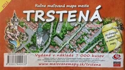 MAPA mesta Trstená I. Vydanie