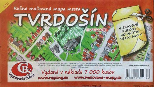 MAPA mesta Tvrdošín II. Vydanie
