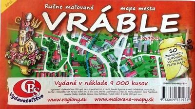MAPA Vráble I.vydanie