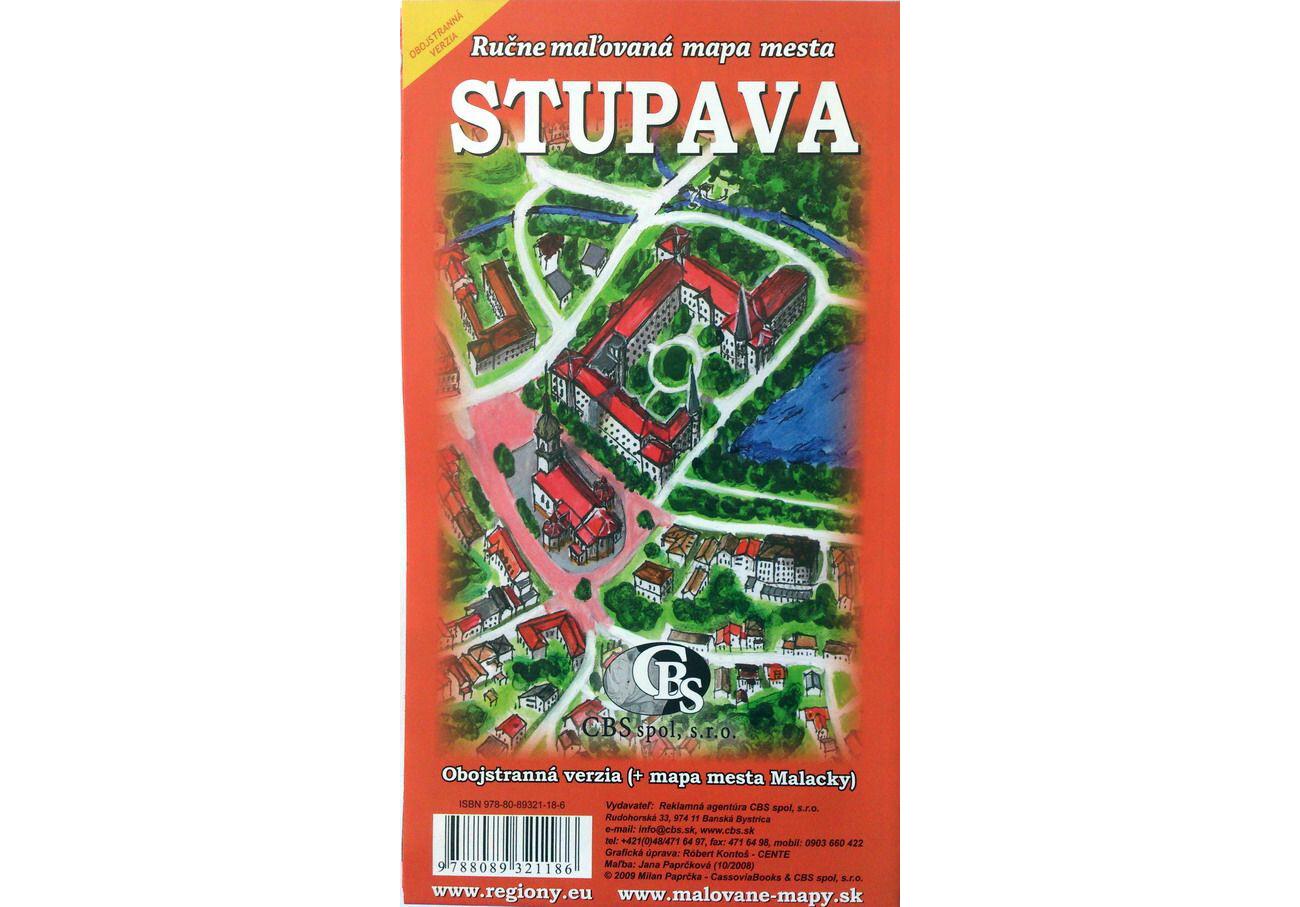 MAPA Stupava (+mapa mesta Malacky)